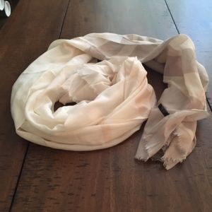 Ann Taylor Silk & Cotton Scarf